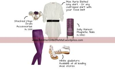 AGITM-purple tights combo
